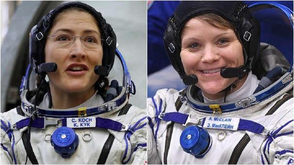 Resultado de imagen para caminata espacial femenina